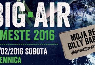 Big Air v Meste 2016
