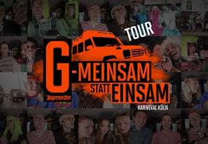 G-MEINSAM STATT EINSAM auf Tour!