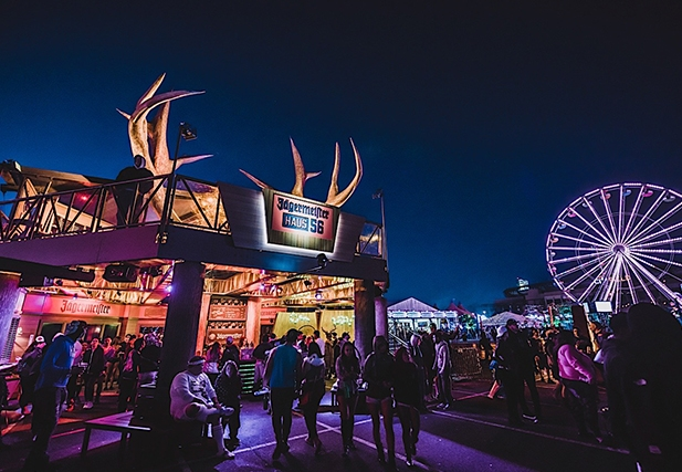 Wild Times at Jägermeister Haus 56 at EDC NY