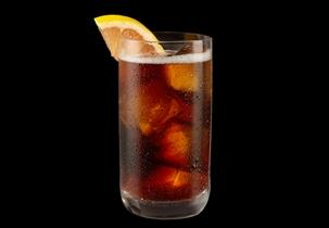 Jägermeister, grapefruit and club soda. So refreshing!