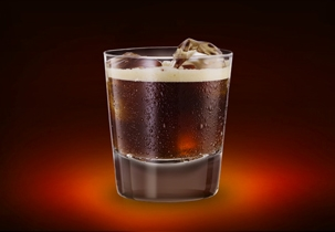 Jägermeister & root beer is the perfect combination.