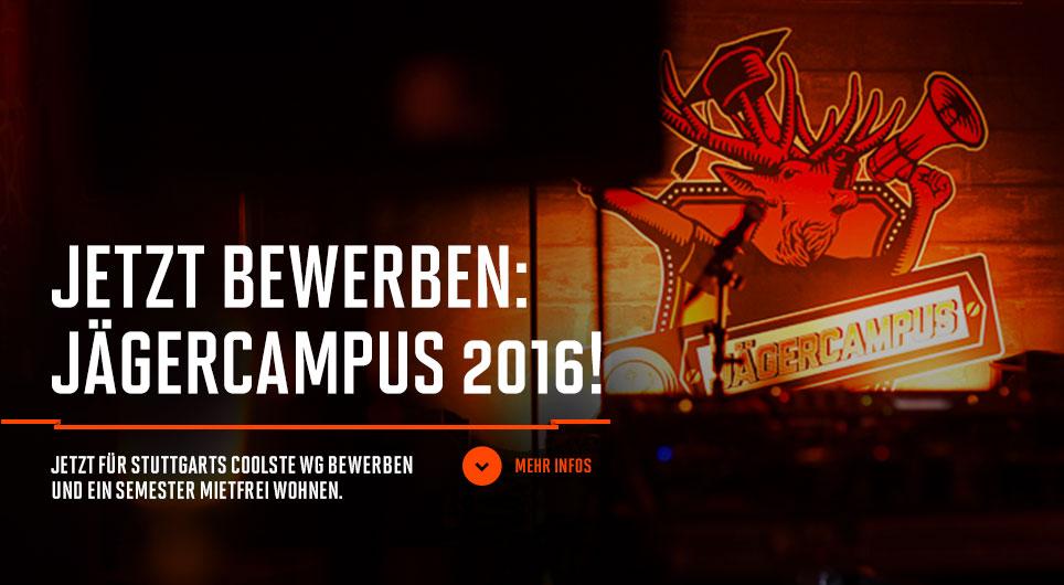Jetzt bewerben: JägerCampus 2016.