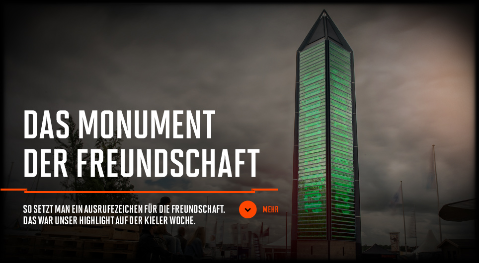 Jägermeister Monument der Freundschaft