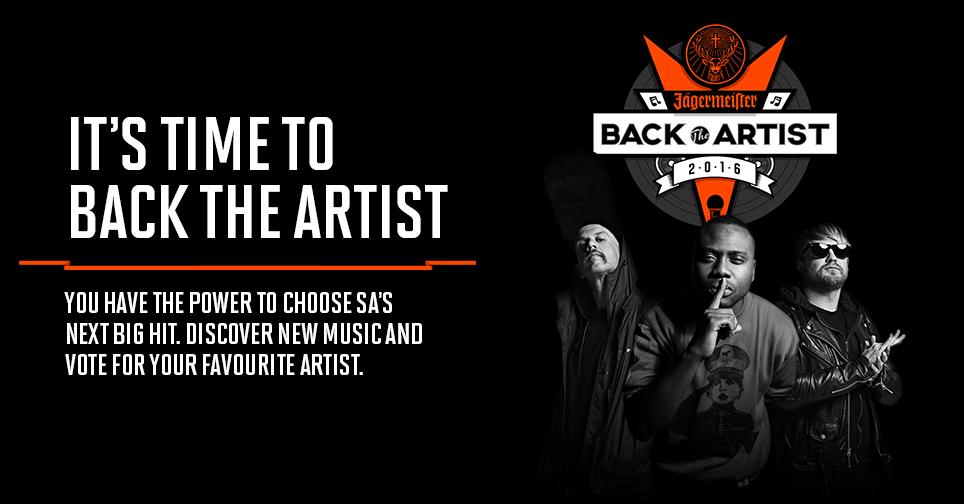 Back the Artist 2016