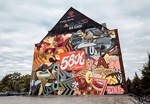 Jägermeiser #WallsOfWir Köln