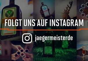 Jägermeister - Folge uns auf Instagram!