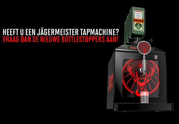 Jägermeister nieuwe bottle stopper