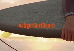 Jägermeister Surfboard