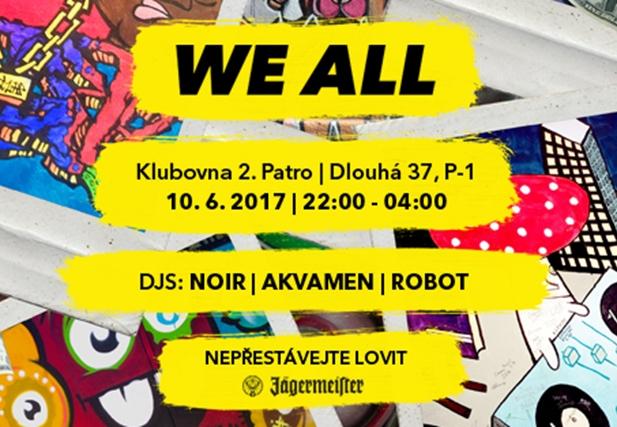 WE ALL 14 - Klub 2.patro, Praha 10.6.2017