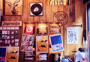 Soho Radio Interior
