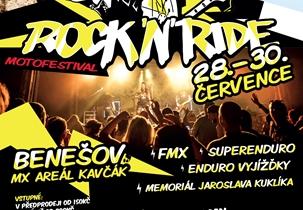 ROCK'N'RIDE - Areál Kavčák, 28-30.7.2017