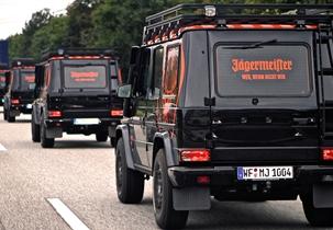 Jägermeister G-Klasse Promotion Geländewagen