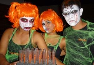Jägermeister Halloween em Nicarágua - Agüizotes