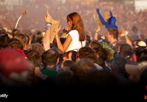 Jägermeister Playlist auf Spotify für Festivals 2014