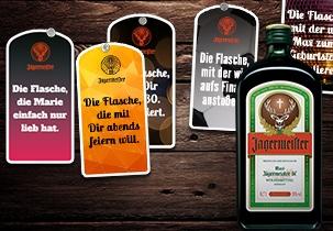 Jägermeister Etikettiermaschine