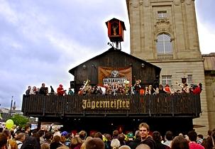 Jägermeister Gasthof beim Schlossgrabenfest  2014
