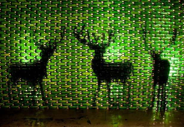 Jägermeister Bottle Art 2014