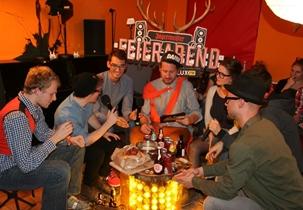 Der Jägermeister Feierabend mit FluxFM in München