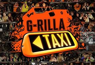 "Jägermeister ""G-Rilla Taxi"" mit dem JÄGER G"