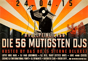 Jägermeister: Wolfenbütteler Festspiele - Die 56 mutigsten DJs