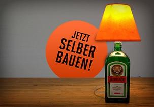 DIY-Bauanleitung Jägermeister Lampe
