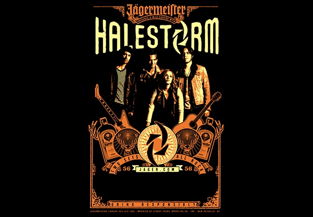 A Wild Evening with Halestorm