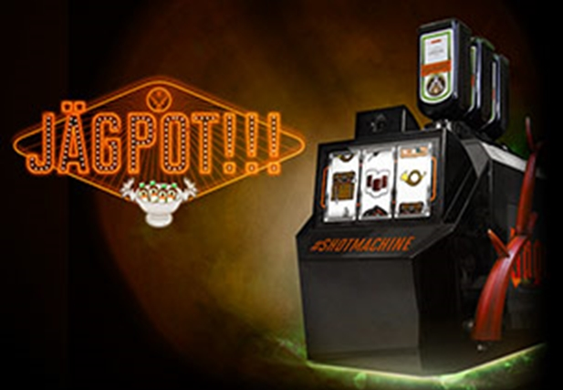 The Jägermeister Shotmachine