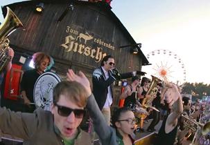 Der Jägermeister Gasthof beim Deichbrand Festival 2015 #jägermeistergasthof