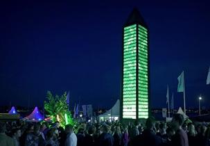 Monument der Freundschaft auf der Kieler Woche