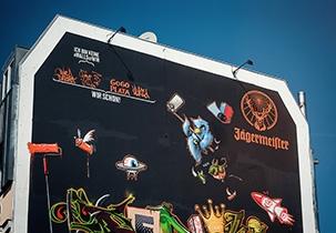 Jägermeiser #WallsOfWir Berlin