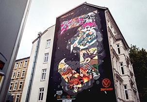 Jägermeiser #WallsOfWir Hamburg