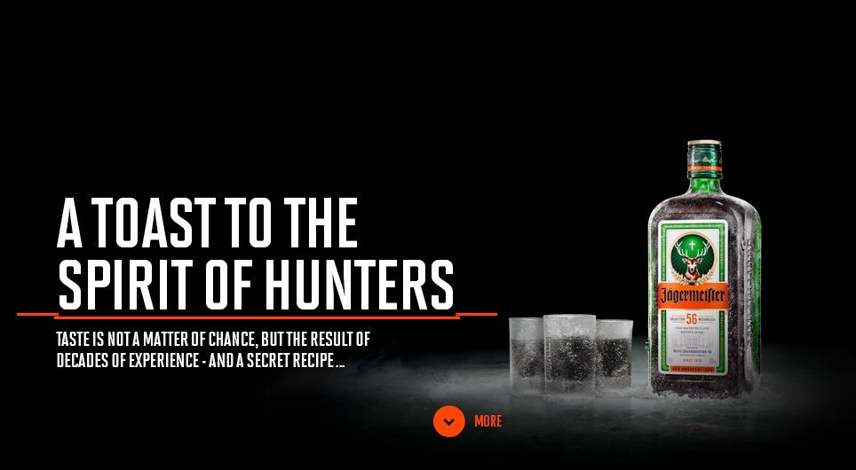 A toast to the spirit of hunters