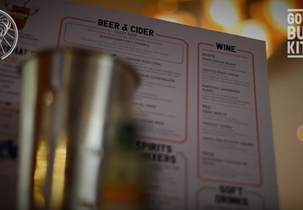 Jager Minis arrive at Gourmet Burger Kitchen in time for Xmas - #JagerGBK
