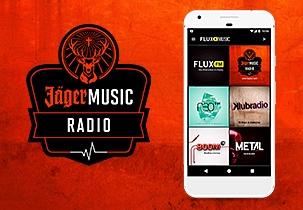 JägerMusic Radio – Der Radio Kanal mit Jägermeister auf FluxFM