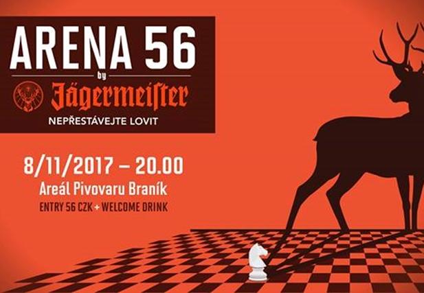 ARENA 56 - Braník, Praha - 8.11.2017