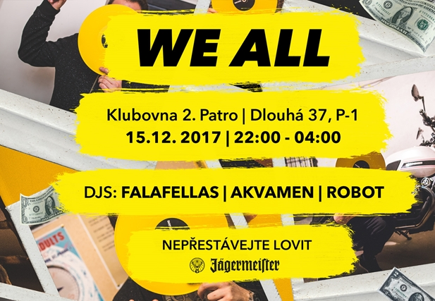 WE ALL 18 - Klub 2.patro, Praha 15.12.2017