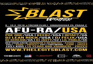 The Legits Blast, Praha, klub Tresor, 9.-11.3. 2018