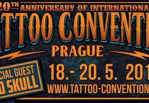 TATTOO CONVENTION PRAHA 2018, Výstaviště,18.5.-20.5.2018