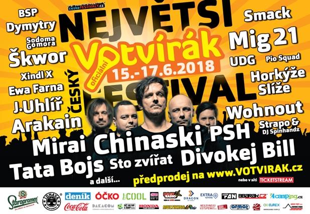 Votvírák 2018 - Milovice, 15-17.6.2018