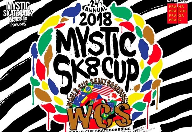 Mystic sk8 cup 2018 - Štvanice, Praha 29.6. - 1.7.2018