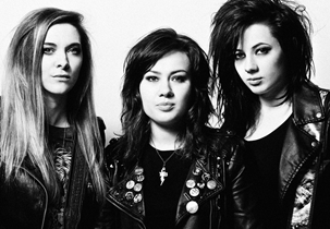 AN ICE COLD SHOT OF... The Amorettes