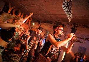 Move YOUR BRASS! - Das Album: Die Record Release Party der Jägermeister Blaskapelle in Berlin