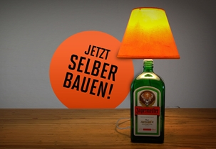 Do It Yourself - Anleitung Jägermeister-Lampe